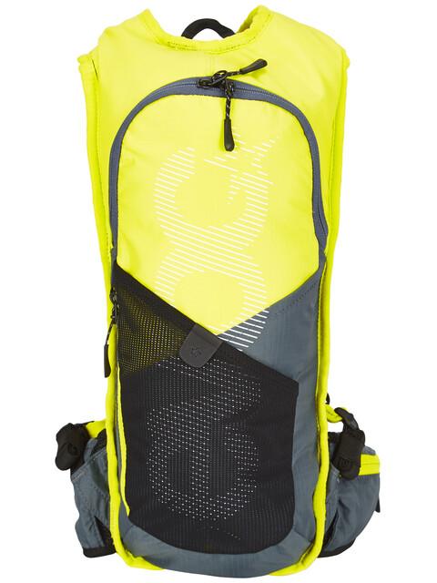 EVOC CC Race - Sac à dos - 3 L + Hydration Bladder 2 L jaune/gris